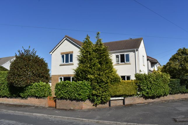 Thumbnail Detached house for sale in Huckford Road, Winterbourne, Bristol