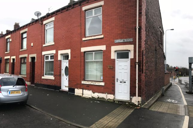 Thumbnail End terrace house to rent in Wellington St, Chadderton