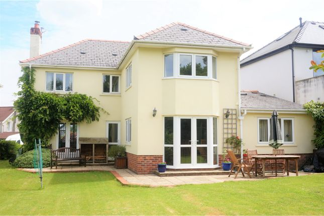 Thumbnail Detached house for sale in Rudry Road, Cardiff
