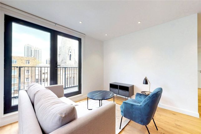 Thumbnail Flat for sale in Eastlight Apartments, London