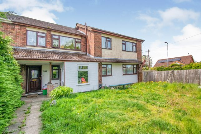 Thumbnail Semi-detached house for sale in Oulton Road North, Lowestoft
