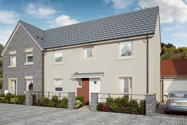 """Thumbnail Semi-detached house for sale in """"The Rowan"""" at Mill Lane, Bitton, Bristol"""