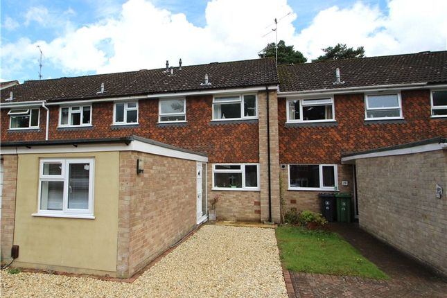 Thumbnail Terraced house for sale in Roxburgh Close, Camberley, Surrey