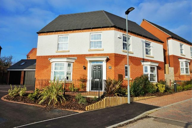 Thumbnail Detached house for sale in Glamorgan Way, Church Gresley, Swadlincote