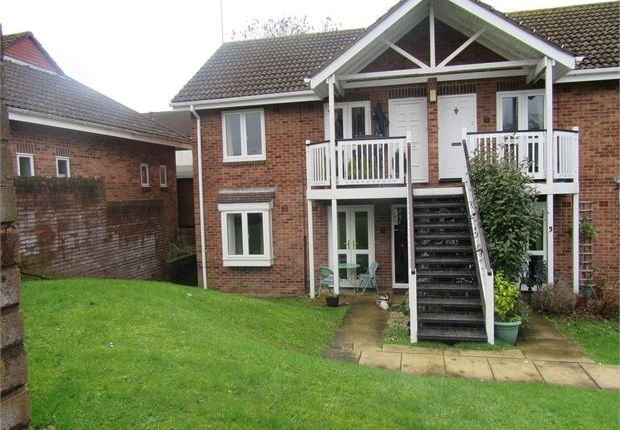 Thumbnail Flat to rent in Mill Close, Bradley Valley, Newton Abbot, Devon.