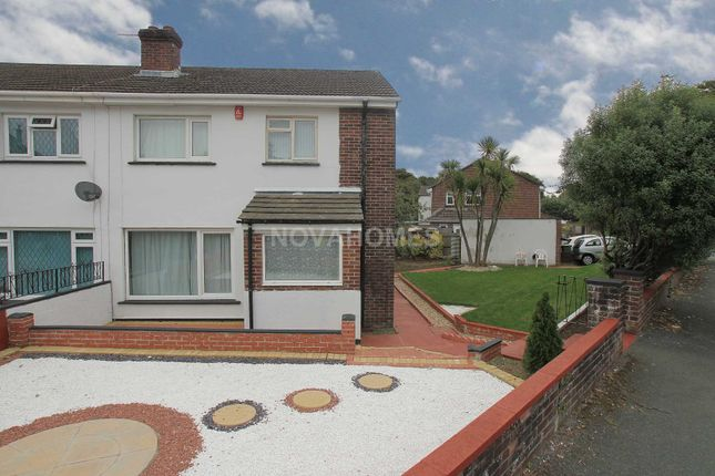 Thumbnail Semi-detached house for sale in St Erth Road, Manadon, Plymouth