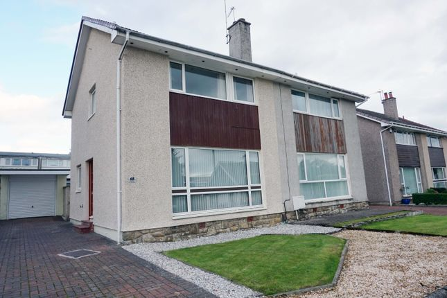 Front Aspects of Dunedin Drive, Hairmyres, East Kilbride G75