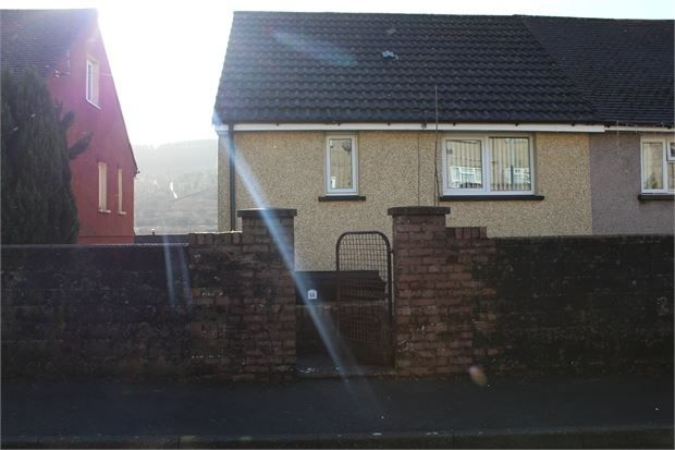 Thumbnail Semi-detached house for sale in St Lukes Road, Llwyncelyn, Porth