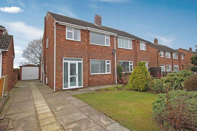 Semi-detached house for sale in Grovemount, Davenham, Northwich