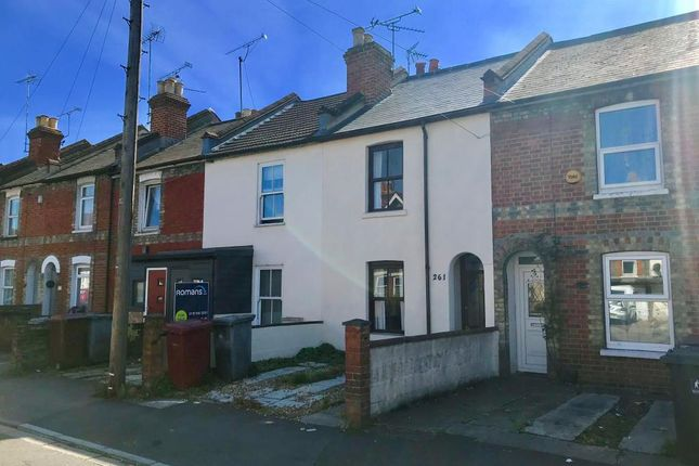 Thumbnail Terraced house to rent in Gosbrook Road, Caversham