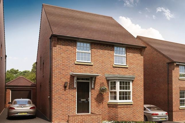 """Thumbnail Detached house for sale in """"Burghley"""" at Pyle Hill, Newbury"""