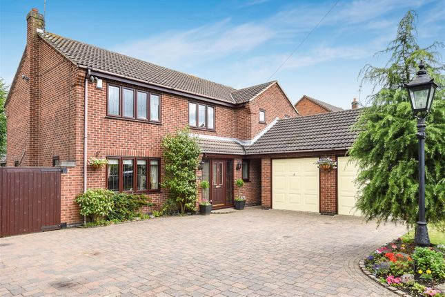 Thumbnail Detached house for sale in Grace Dieu Road, Whitwick, Coalville