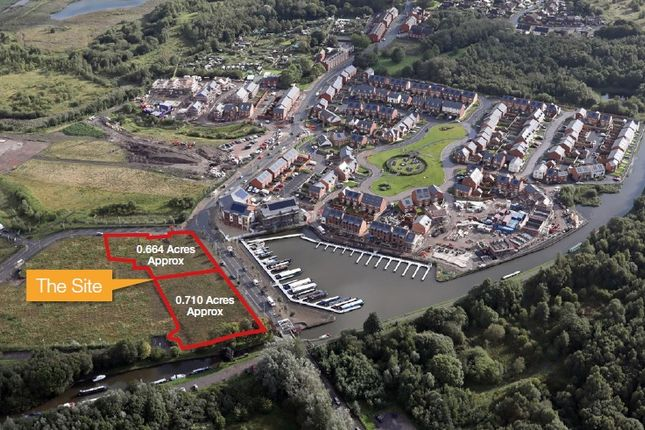 Thumbnail Land for sale in Pennington Wharf, Plank Lane, Leigh