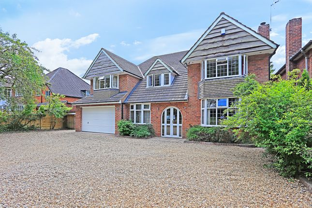 Thumbnail Detached house for sale in Widney Lane, Shirley, Solihull