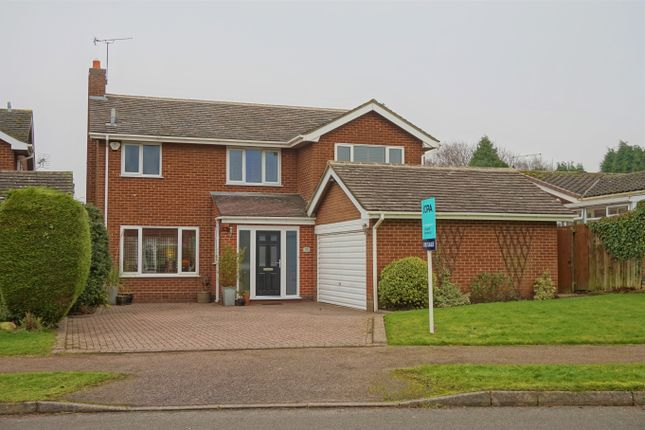 Thumbnail Detached house for sale in Lawn Avenue, Etwall, Derby