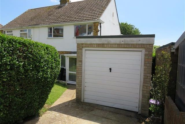 Thumbnail Semi-detached house to rent in Merston Close, Brighton