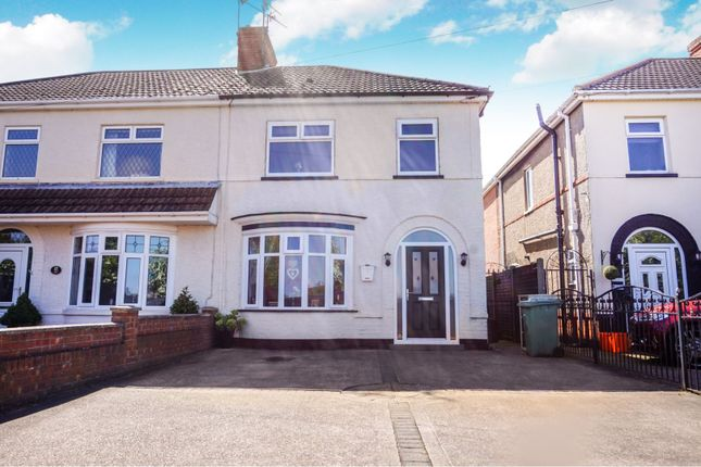Thumbnail 3 bed semi-detached house for sale in Cartmel Grove, Old Clee, Grimsby