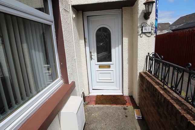 Thumbnail Terraced house to rent in Moriston Court, Grangemouth