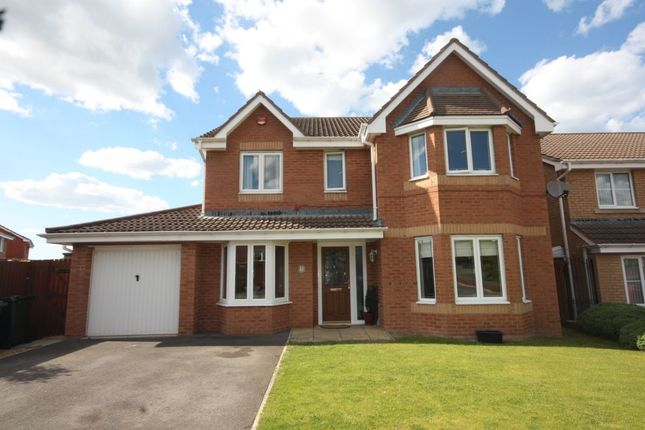 Thumbnail Detached house for sale in Monkton Rise, Guisborough