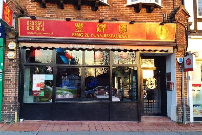 Thumbnail Restaurant/cafe for sale in Limpsfield Road, Sanderstead, South Croydon