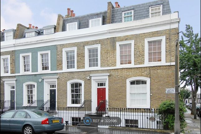 Thumbnail Terraced house to rent in Linton Street, London