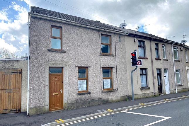 3 bed end terrace house for sale in Water Street, Neath, Neath Port Talbot. SA11
