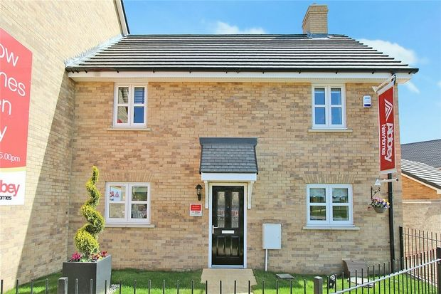 Thumbnail Semi-detached house for sale in The Heron At Chiswell Place, New Cardington, Bedfordshire