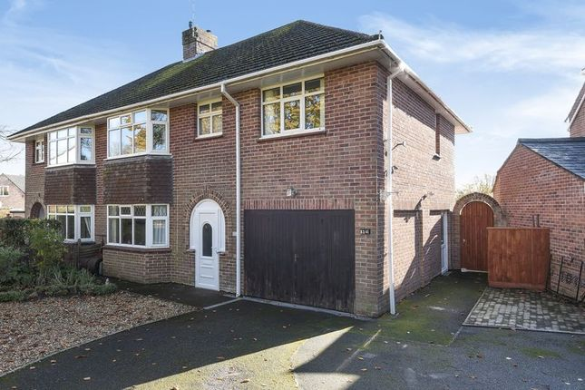 Thumbnail Semi-detached house for sale in Manor Road, Dorchester