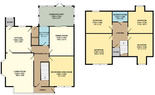 Aberdeen Terrace Clayton Bradford Bd14 5 Bedroom Semi