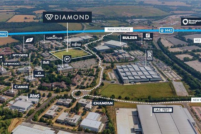 Thumbnail Industrial to let in Diamond, Birmingham Business Park, Solihull Parkway, Birmingham