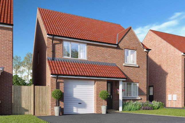 "Thumbnail Detached house for sale in ""The Goodridge"" at Racecourse Road, East Ayton, Scarborough"