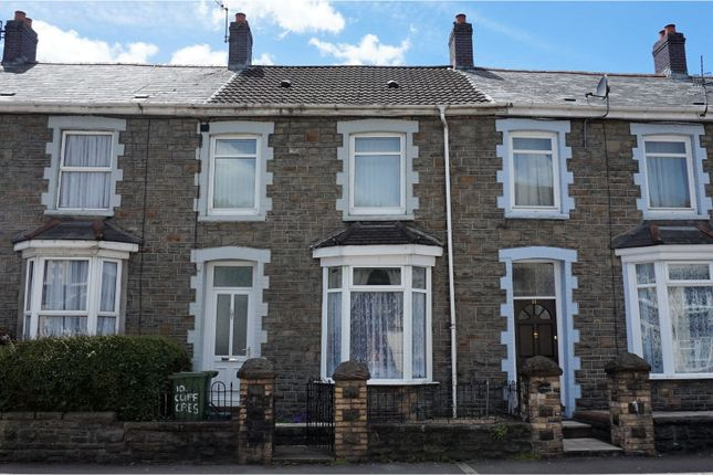 Thumbnail Terraced house for sale in Clifton Crescent, Aberdare