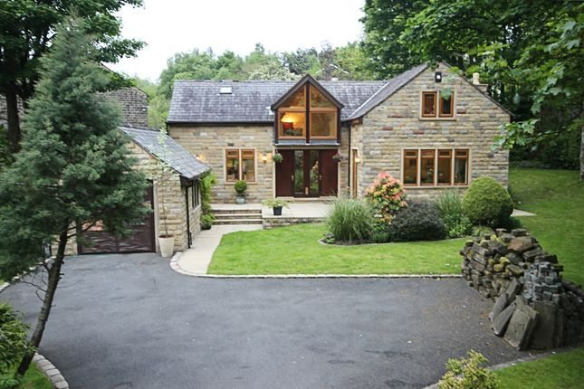 Thumbnail Detached house for sale in Church Road, Uppermill, Oldham