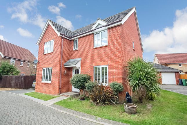 Thumbnail Detached house for sale in George Road, Thetford, Norfolk