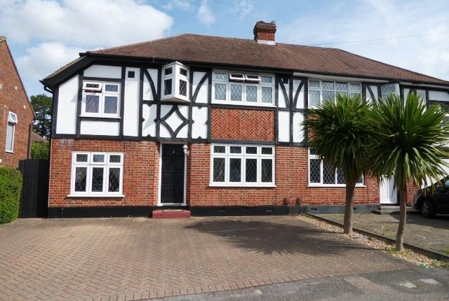 Thumbnail Semi-detached house for sale in Romney Close, Chessington