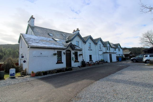 Thumbnail Leisure/hospitality for sale in Inchbae Lodge, By Garve, Ross-Shire