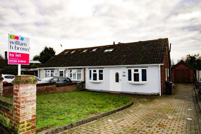 4 bed semi-detached house to rent in Second Avenue, Weeley, Clacton-On-Sea CO16