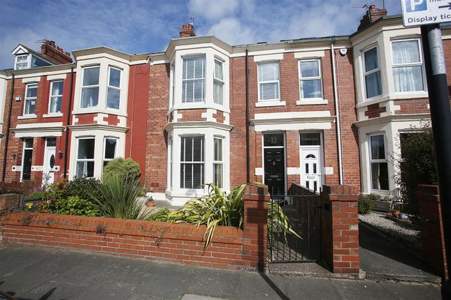 Thumbnail Terraced house for sale in Park Parade, Whitley Bay