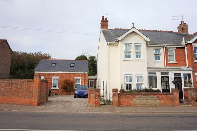 Thumbnail Semi-detached house for sale in The Green, Martham