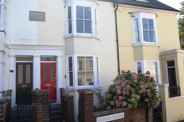 Thumbnail Flat to rent in Paddock Terrace, Lewes