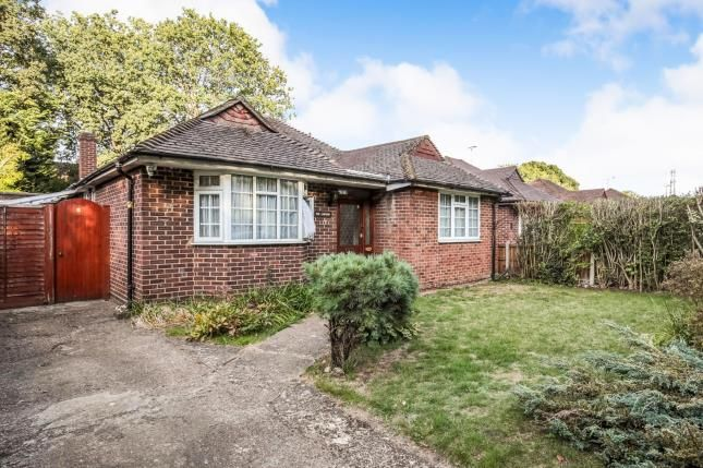 Thumbnail Bungalow for sale in New Haw, Surrey, .