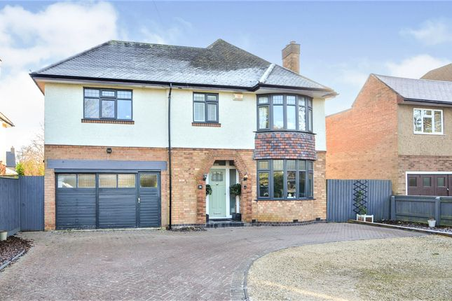 Thumbnail Detached house for sale in Rugby Road, Dunchurch, Rugby