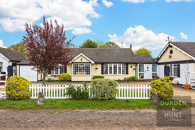 Thumbnail Detached bungalow for sale in Green Lane, Chigwell Village, Chigwell