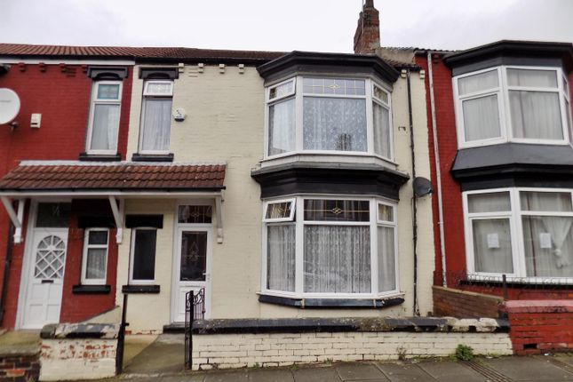 Thumbnail Terraced house for sale in Wellesley Road, Longlands, Middlesbrough