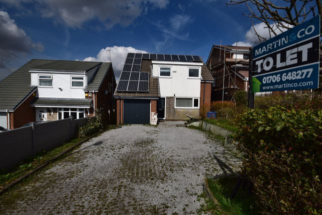 Thumbnail Detached house to rent in Heights Avenue, Rochdale