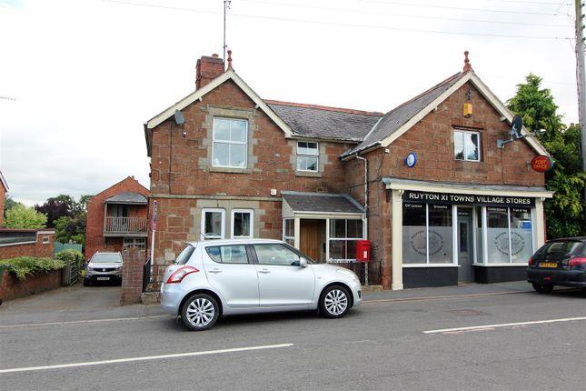 Thumbnail Detached house for sale in Church Street, Ruyton Xi Towns, Shrewsbury