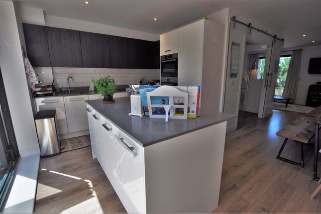 Thumbnail Town house for sale in Red Close, Dunmow Road, Bishops Stortford
