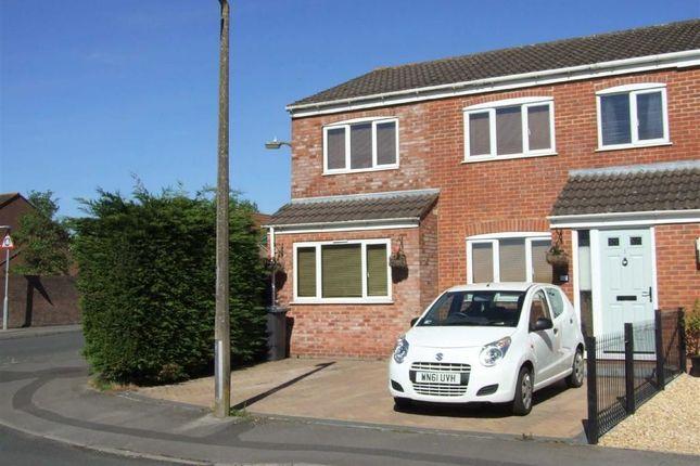Thumbnail Semi-detached house for sale in Barnes Wallis Close, Bowerhill, Melksham