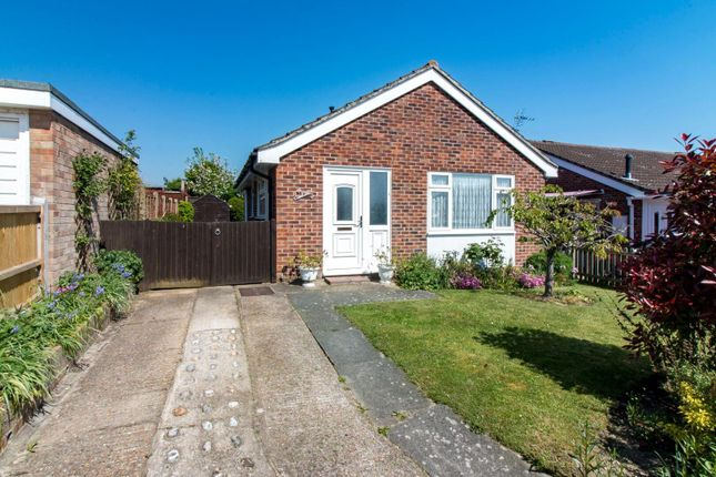 Thumbnail Detached bungalow for sale in Downside, Folkestone