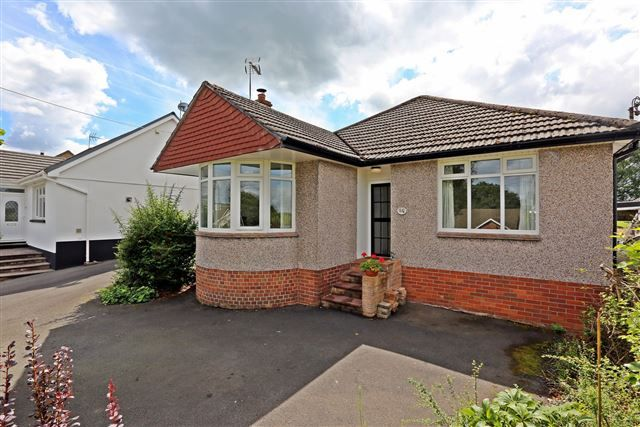 Thumbnail Detached bungalow for sale in Heol Dowlais, Efail Isaf